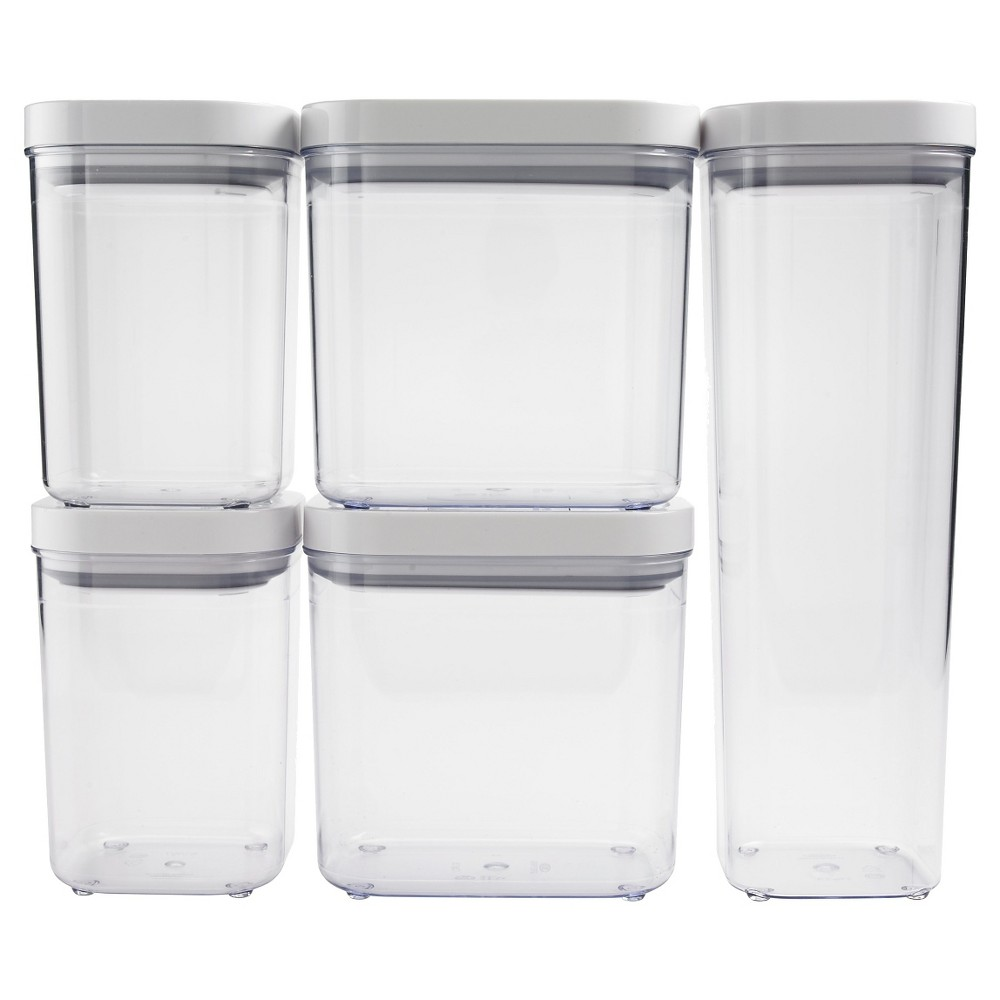 Image of OXO POP 5pc Airtight Food Storage Container Set