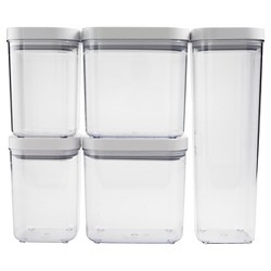 OXO POP 5pc Airtight Food Storage Container Set