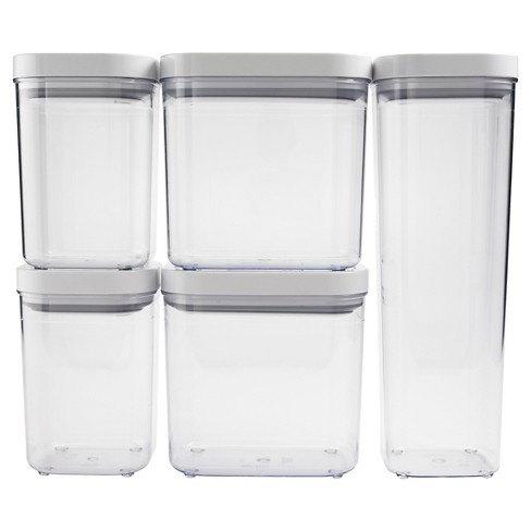 Oxo Pop 5pc Airtight Food Storage Container Set Target