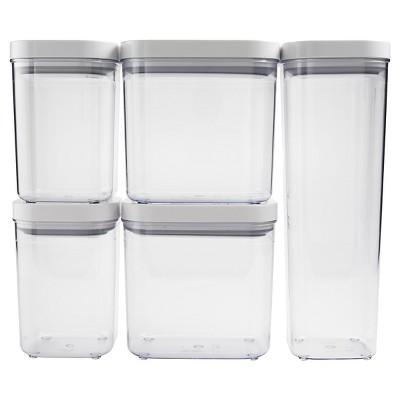 OXO POP 5pc Airtight Food Storage Container Set