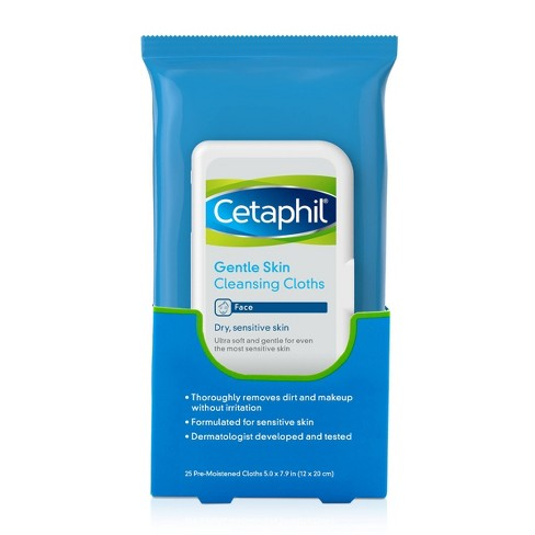 Cetaphil Gentle Skin Cleansing Cloths Unscented - 25ct - image 1 of 4