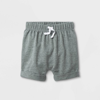 Baby Knit Pull-On Shorts - Cat & Jack™ Gray 3-6M
