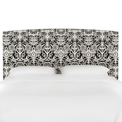 Upholstered Headboard Queen Black & White Floral - Opalhouse™