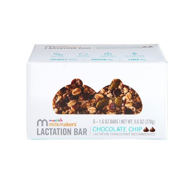 Milkmakers Chocolate Chip Lactation Bars - 6ct