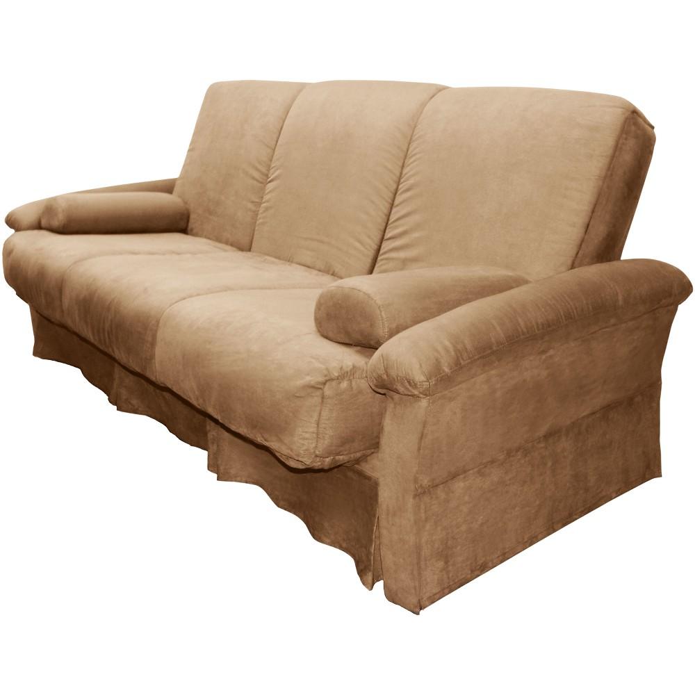 Nirvanna Perfect Futon Sofa Sleeper Khaki (Green) - Epic Furnishings
