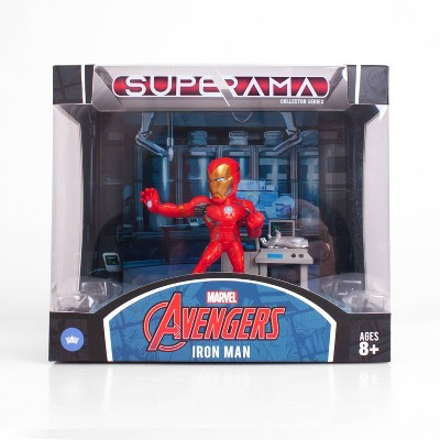 Marvel The Loyal Subjects Iron Man Superama Action Figure