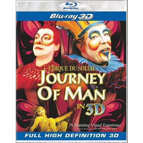 Cirque Du Soleil:Journey Of Man (3d) (Blu-ray) : Target