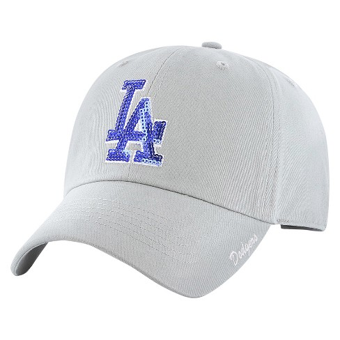 MLB Los Angeles Dodgers Fan Favorite Women's Adjustable Sparkle Baseball Cap - image 1 of 2