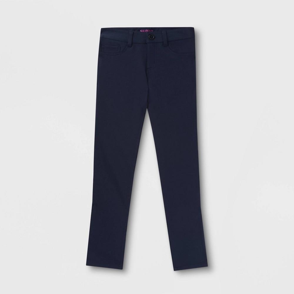 Best French Toast Girls Uniform Knit Pants Navy Blue 8