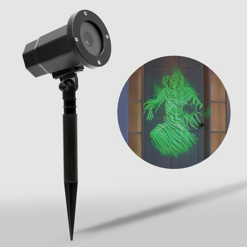 Philips Animated Green Ghost Skeleton LED Halloween Projector - image 1 of 4
