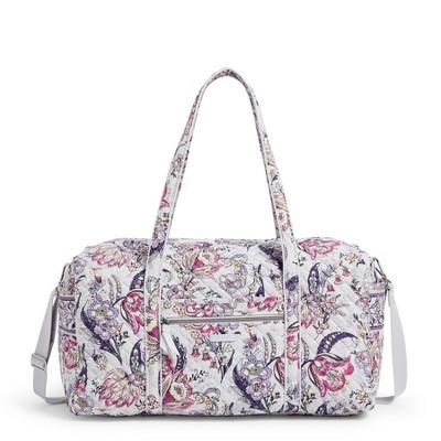 Vera Bradley Women's Cotton Large Travel Duffel Bag