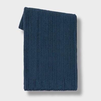 "50""x60"" Chenille Knit Throw Blanket - Threshold™"