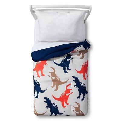 Jurassic Jams Toddler Comforter - Tan - Pillowfort™