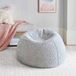 Incredible York Faux Fur Shaggy Bean Bag Target Machost Co Dining Chair Design Ideas Machostcouk
