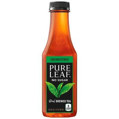 Pure Leaf Unsweetened Iced Tea - 18.5 fl oz Bottle