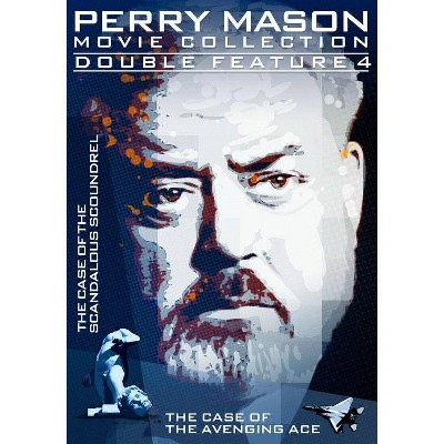 Perry Mason Double Feature: Case Of Scandalous Scoundrel / Avenging Ace (DVD)(2014)