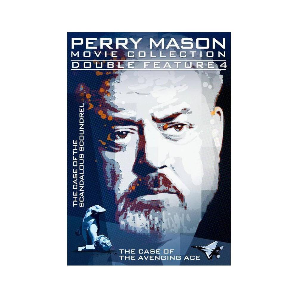 Perry Mason Double Feature: Case Of Scandalous Scoundrel / Avenging Ace (DVD)