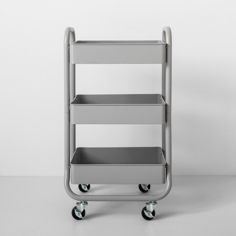 3-Tier Metal Utility Cart - Made By Design™ on