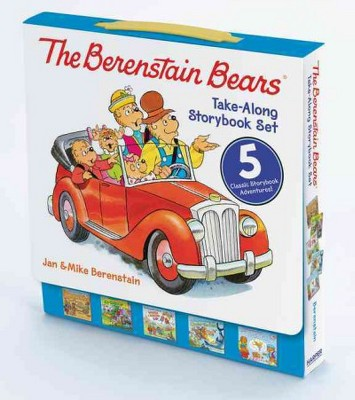 Berenstain Bears Take-along Storybook Set : Dinosaur Dig / Go Green / When I Grow Up / Under the Sea /