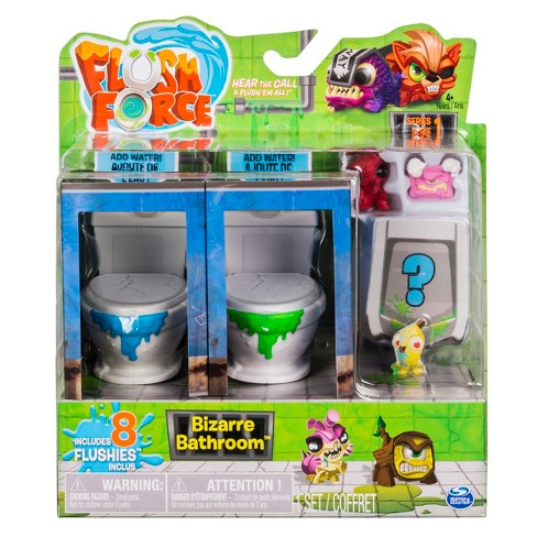 Flush Force - Series 1 - Bizarre Bathroom Collectible 8pk Figures (Color/Styles May Varies) - image 1 of 7