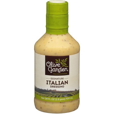 Salad Dressing & Toppings: Olive Garden