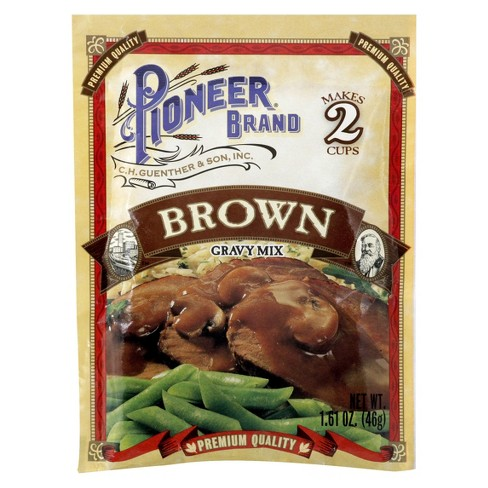 Pioneer Brand Brown Gravy Mix 1.61 oz - image 1 of 1