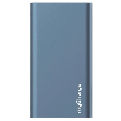 myCharge Razor Xtra Turbo 12000mAh/18W Dual USB-C & USB-A Port Portable Charger- Blue