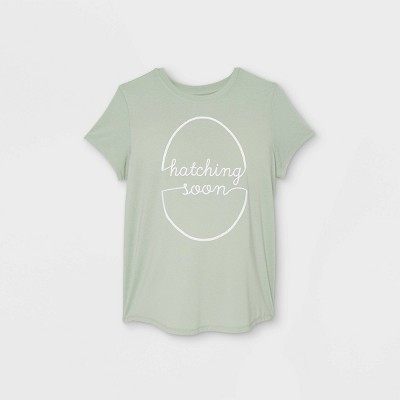 Maternity Short Sleeve Easter Graphic T-Shirt - Isabel Maternity by Ingrid & Isabel™