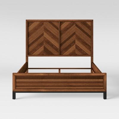 Queen Bed Rochester Parquet Brown - Threshold™