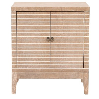 Contemporary Wooden Cabinet Light Brown - Olivia & May