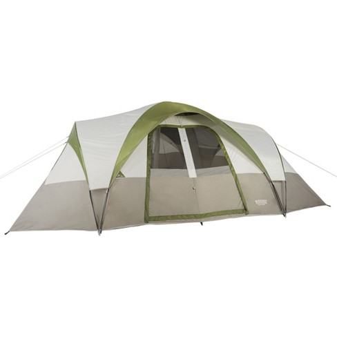 92cc82519cc Wenzel Mammoth 16 Person Family 3 Season Outdoor Camping Dome Tent With  Divider   Target