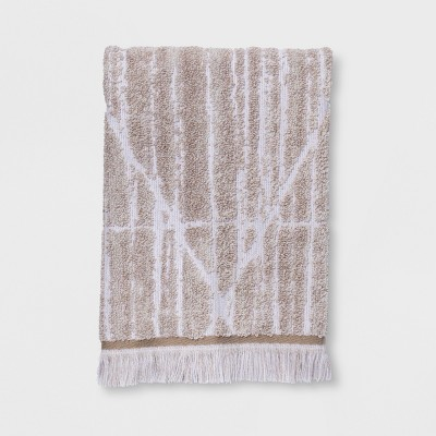Diamond Lines Hand Towel Khaki - Project 62™