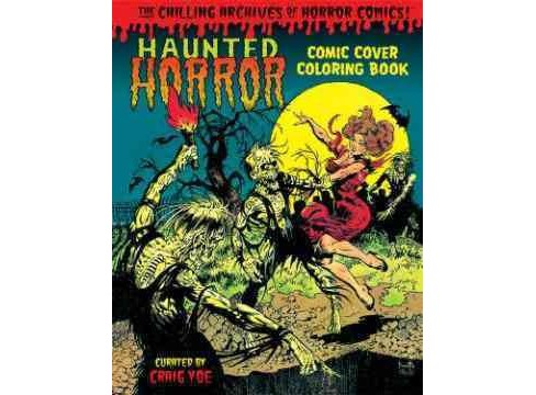 Haunted Horror Adult Coloring Book - image 1 of 1