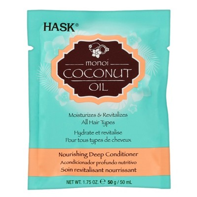 Shampoo & Conditioner: Hask Monoi Coconut Oil Nourishing Deep Conditioner