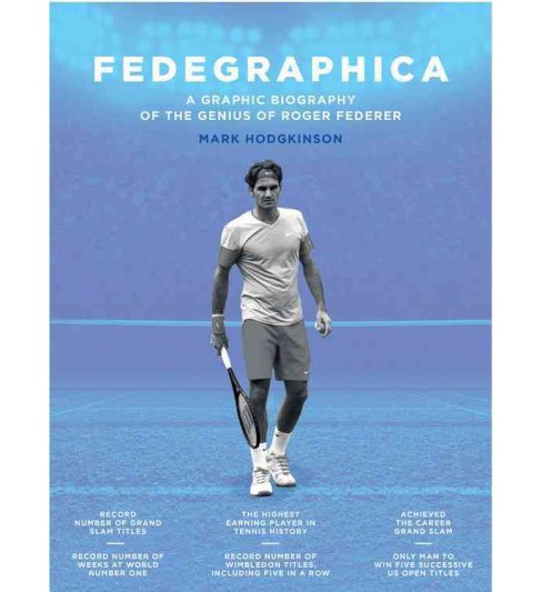 Fedegraphica : A Graphic Biography of the Genius of Roger Federer (Hardcover) (Mark Hodgkinson) - image 1 of 1