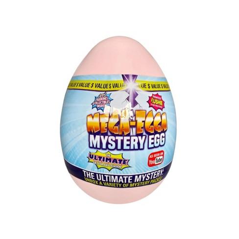 Mega-Egga Toys Ultimate Surprise Giant Mystery Egg – Pastel Pink - image 1 of 3