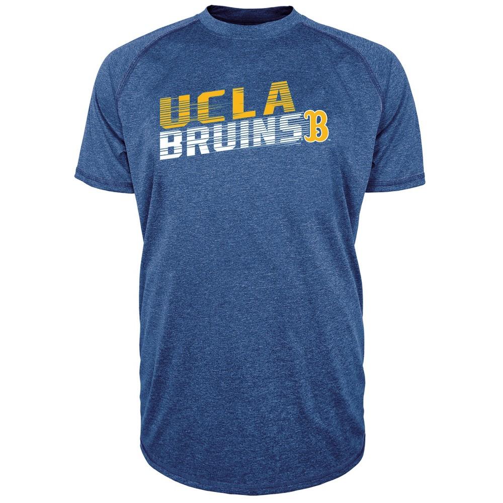 Ucla Bruins Men's Short Sleeve Raglan Performance T-Shirt - S, Multicolored