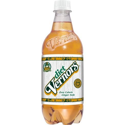 Diet Vernors Ginger Soda - 20 fl oz Bottle - image 1 of 2