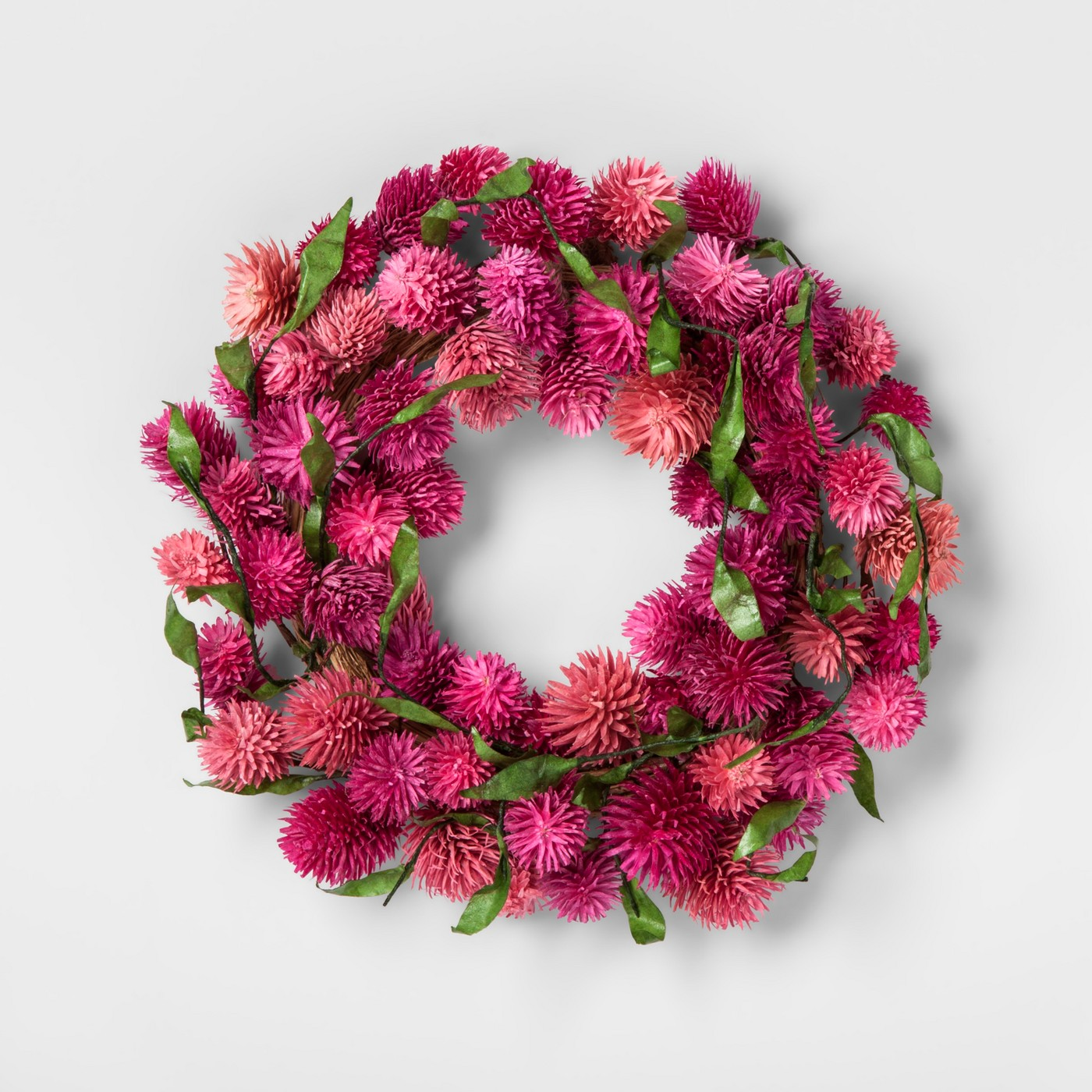 "11"" Dyetree Wreath Pink - Smith & Hawken™ - image 1 of 1"
