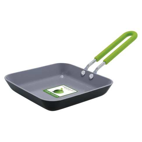 GreenPan Mini Ceramic Non Stick Square Egg Pan - image 1 of 3