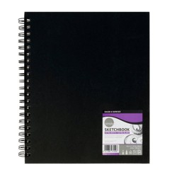 "8.5"" x 11"" 80 Sheet Simply Sketchbook Extra White - Pacon"