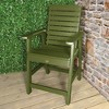 Weatherly Counter Patio Armchair Dried Sage - Highwood - image 2 of 3