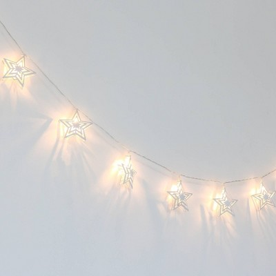 Farmhouse Twinkle Stars LED Lighted Garland by The Peanutshell