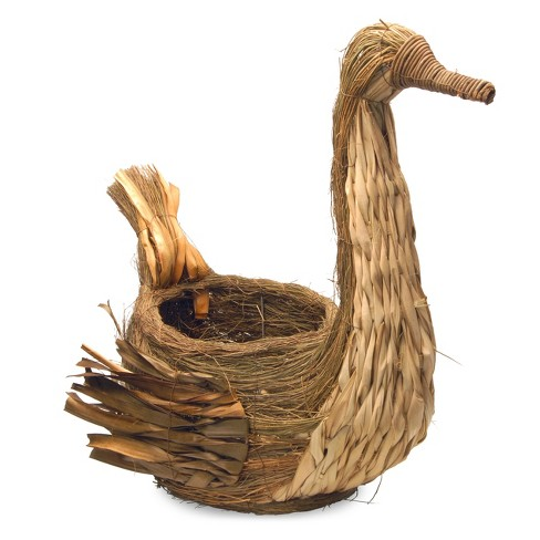 "Country Goose Basket Brown 21"" - National Tree Company - image 1 of 4"