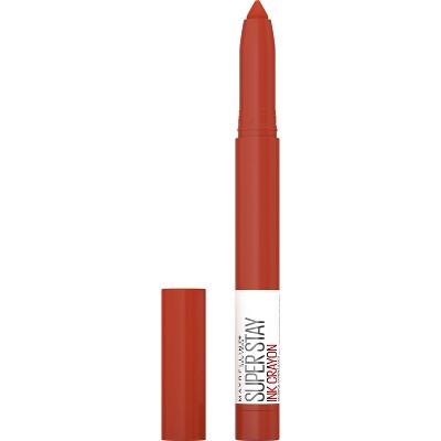 Maybelline SuperStay Ink Crayon Spiced Lipstick - 0.04oz