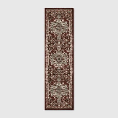Printed Persian Geometric Design Tufted Rug - Threshold™