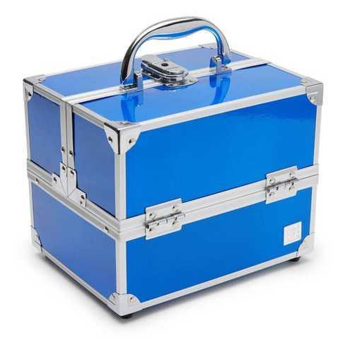 Caboodles Small Train Case - Blue - image 1 of 4
