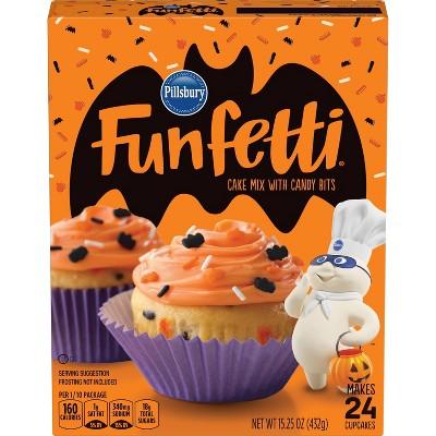 Pillsbury Funfetti Halloween Cake Mix 15.25 oz