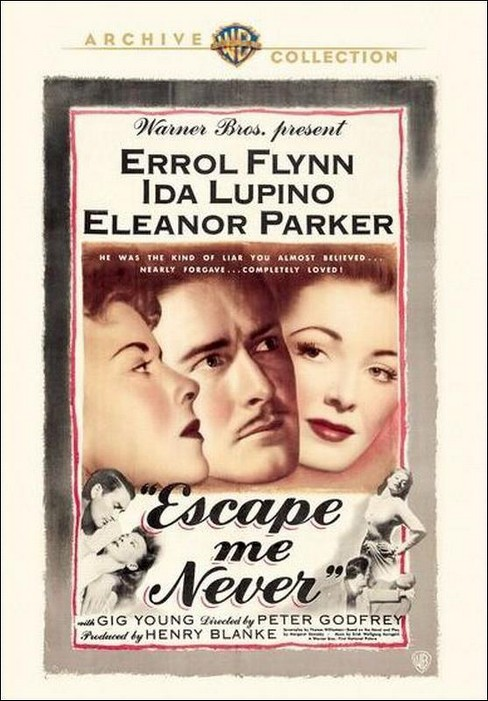 Escape me never (DVD) - image 1 of 1