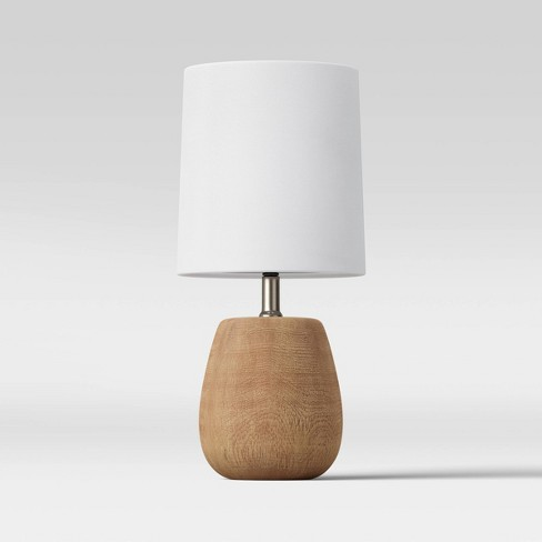 Polyresin Wood Accent Lamp - Threshold™ - image 1 of 3